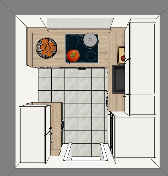 neu k chen ferienwohnung b sum erlengrund 74 an der nordsee mit wlan und hund. Black Bedroom Furniture Sets. Home Design Ideas